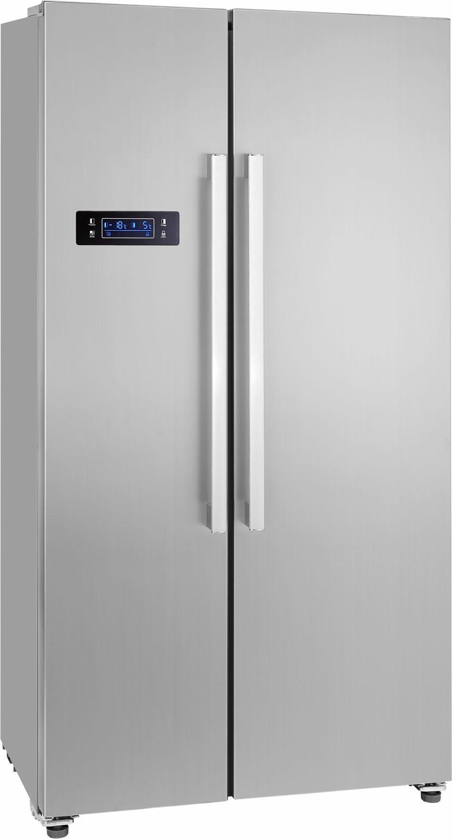 Side By Side Kühlschrank Unter 90 Cm Breit : Side by side kühlschrank auf rechnung raten kaufen