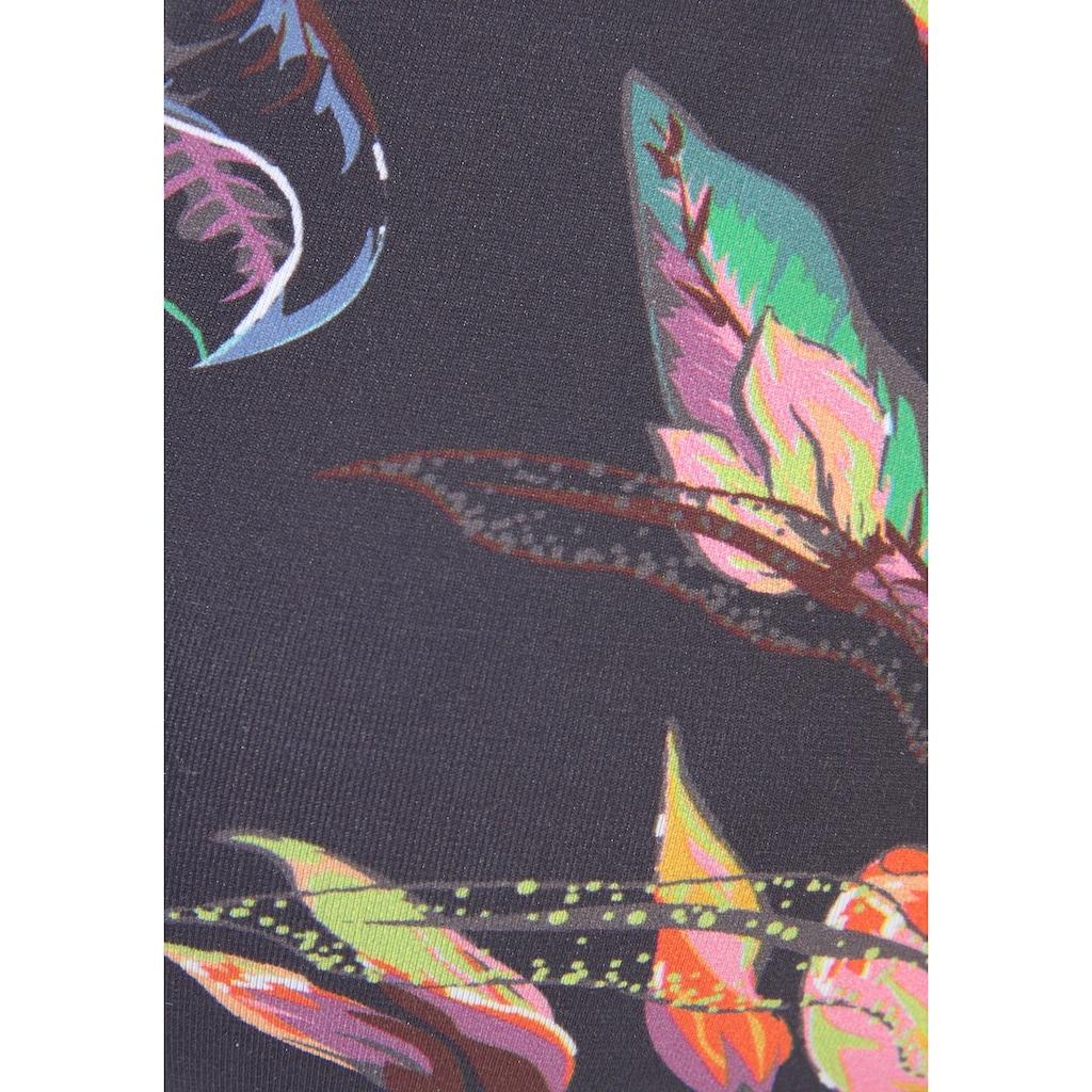 LASCANA Triangel-Bikini-Top »Malia«, mit tropischem Print