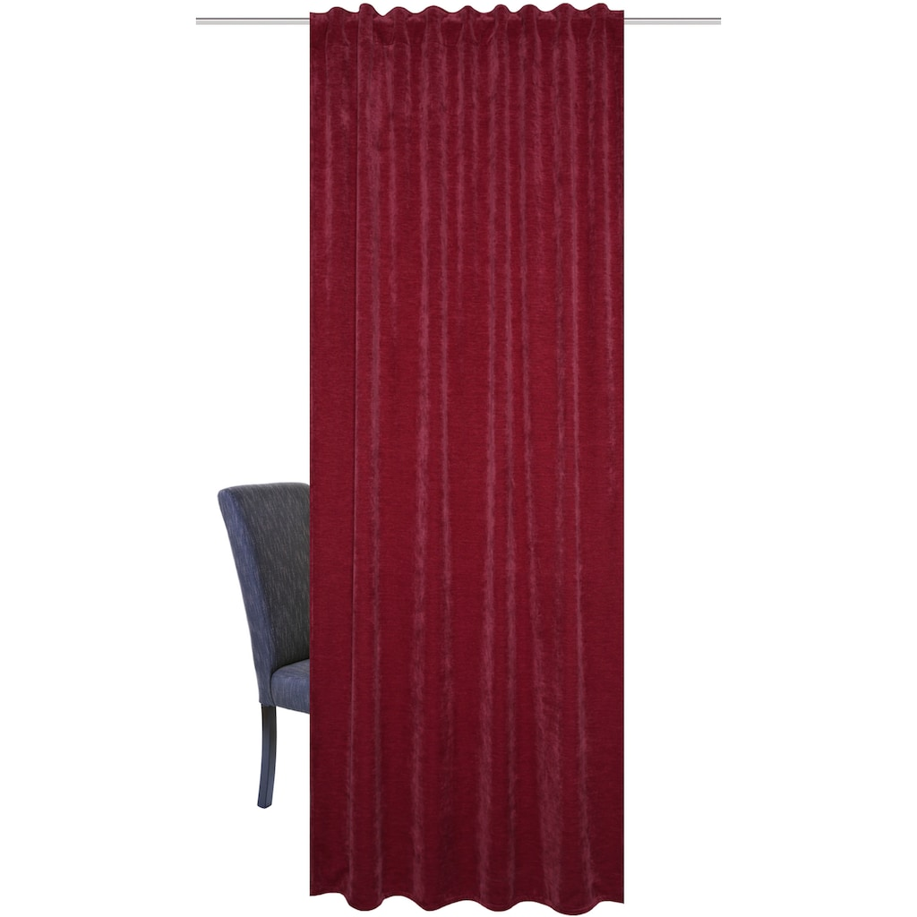 Home Basics Vorhang »WOLLY«, Chenille