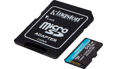 Kingston »Canvas Go! Plus microSDXC + Adapter« Micro SD - Karte (Lesegeschwindigkeit maximal 170 MB/s) kaufen