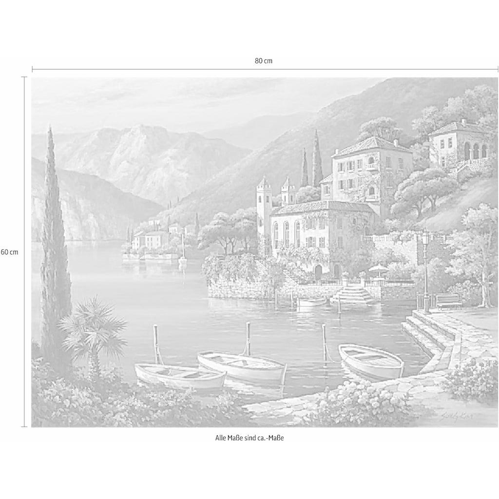 Home affaire Deco-Panel »SUNG KIM / Villa Bella Vista«, 80/60 cm