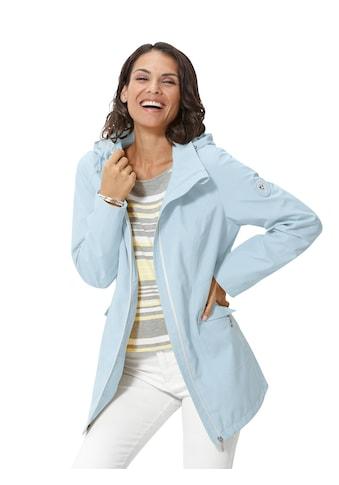 Casual Looks Softshelljacke mit abknöpfbarer Kapuze kaufen