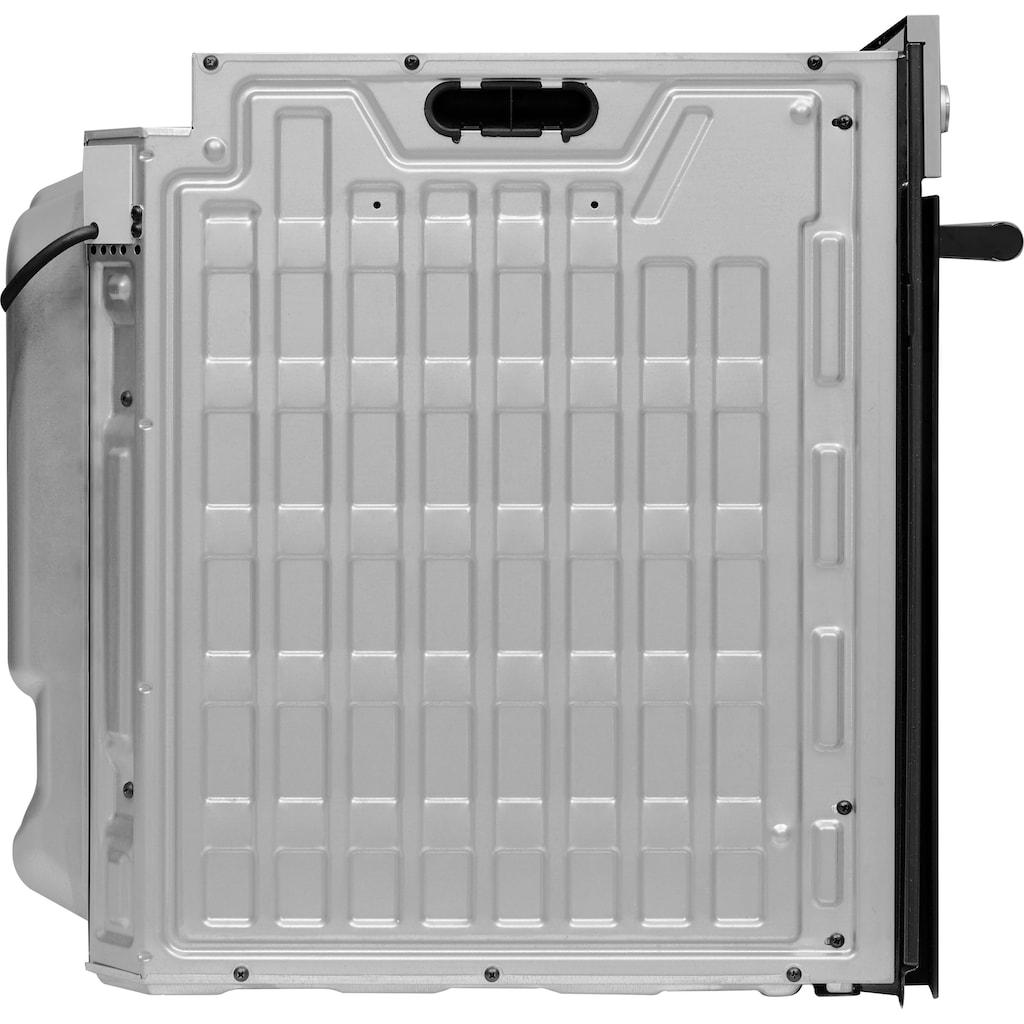 BAUKNECHT Backofen-Set »BAKO 900 PYRO IND F«, BAR2 KP8V2 IN, mit 2-fach-Teleskopauszug, Pyrolyse-Selbstreinigung