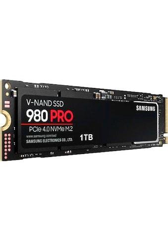 Samsung interne SSD »980 PRO SSD«, Playstation 5 kompatibel, PCIe 4.0 NVMe, M.2 kaufen