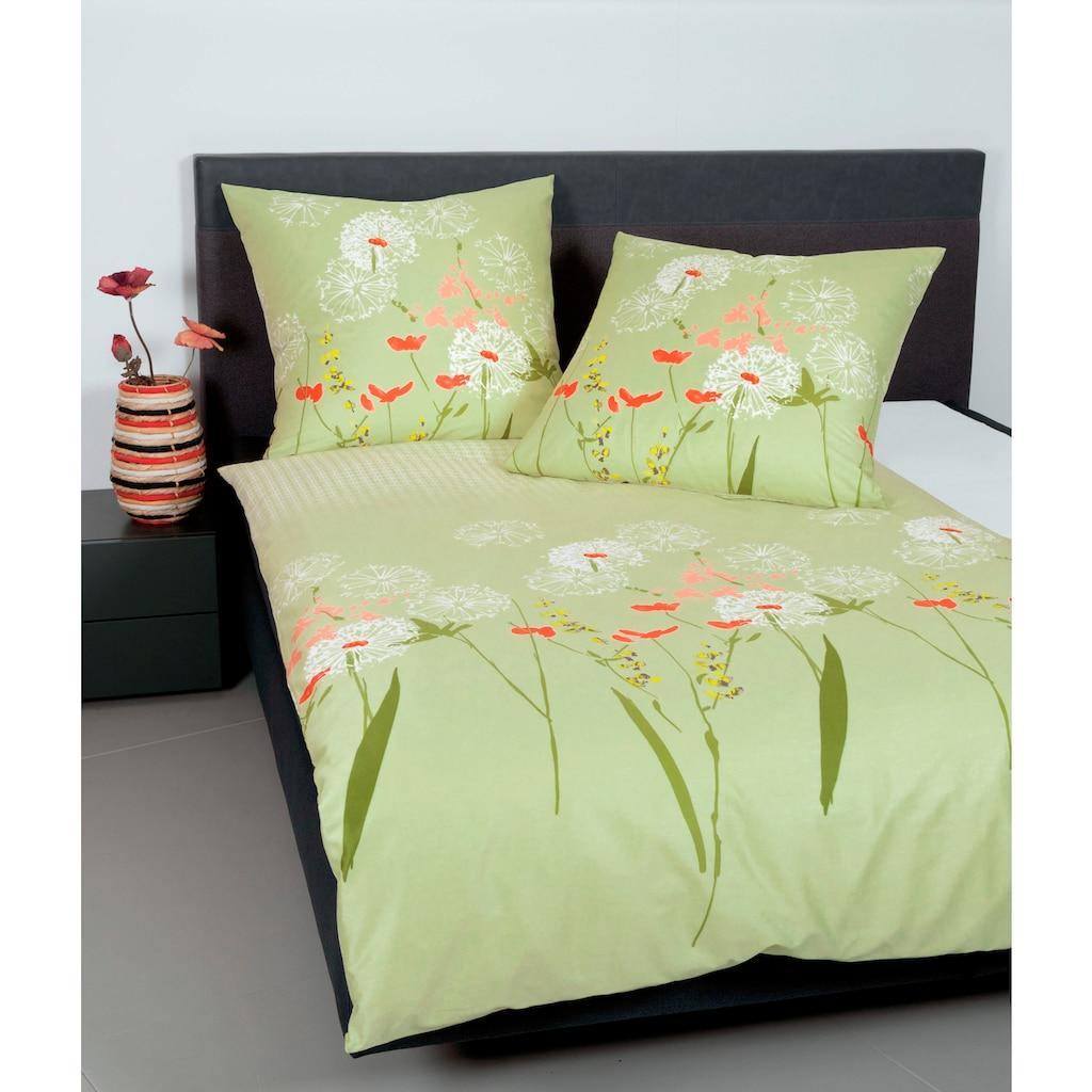 Janine Bettwäsche »moments 98053«, mit floralem Muster