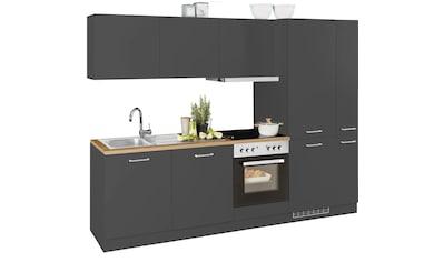 HELD MÖBEL Küchenzeile »Kehl«, mit E-Geräten, Breite 270 cm kaufen