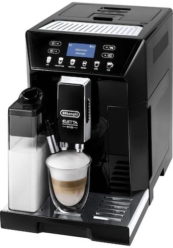 De'Longhi Kaffeevollautomat ECAM 46.860.B Eletta Evo, schwarz, 2l Tank kaufen