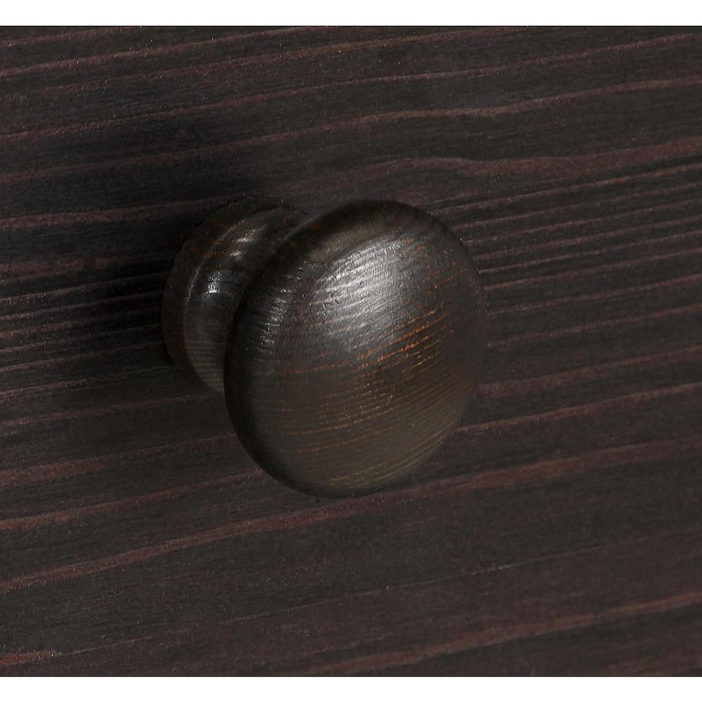 Home affaire Sideboard »Mette«, mit gefrästen, kugelförmigen Füßen, Breite 80 cm