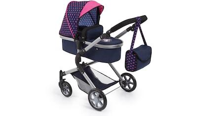 """Bayer Kombi - Puppenwagen """"City Neo, Blau/Pink"""" kaufen"""