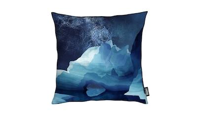 Dekokissen, »Polar Bear by Night«, Juniqe kaufen