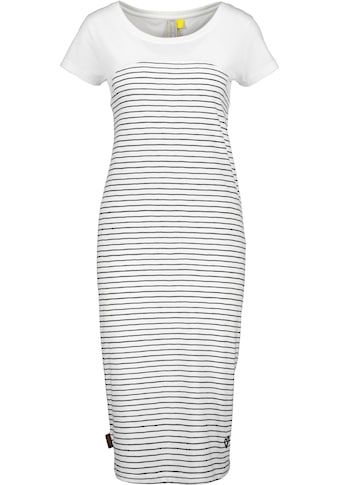 Alife & Kickin Jerseykleid »ClariceAK«, süßes Sommerkleid im Ringel-Look kaufen