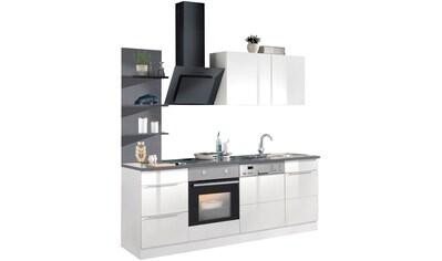 HELD MÖBEL Küchenzeile »Brindisi«, Breite 220 cm kaufen
