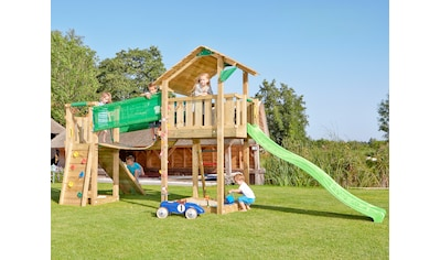 Jungle Gym Spielturm »Jungle Shelter Bridge«, Gesamtmaße (B/T/H): 415/365/290 cm kaufen