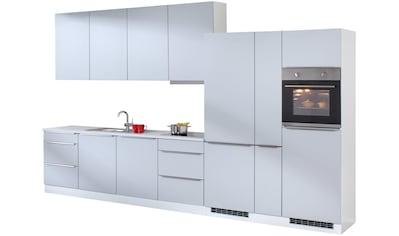HELD MÖBEL Küchenzeile »Cannes«, mit E - Geräten, Breite 390 cm kaufen