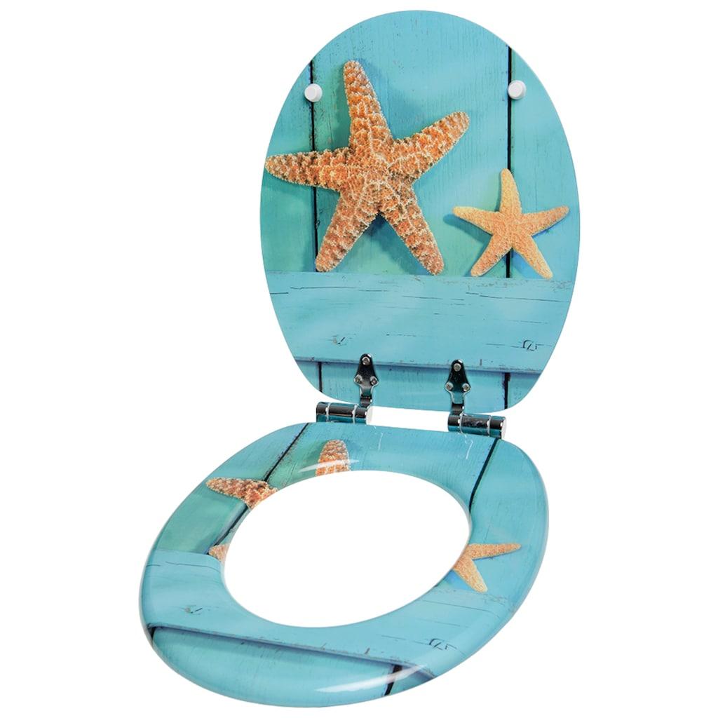 Sanilo WC-Sitz »Starfish«, mit Absenkautomatik
