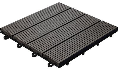 florco® Terrassenplatten, Klickfliesen kaufen