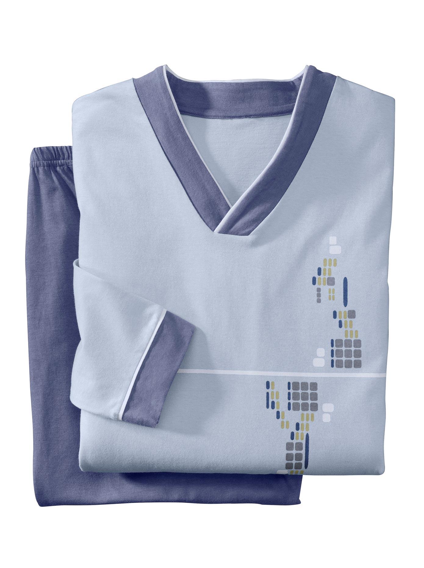 Schlafanzüge TopTen (2 Stck)   Bekleidung > Wäsche   Blau   Baumwolle   Topten