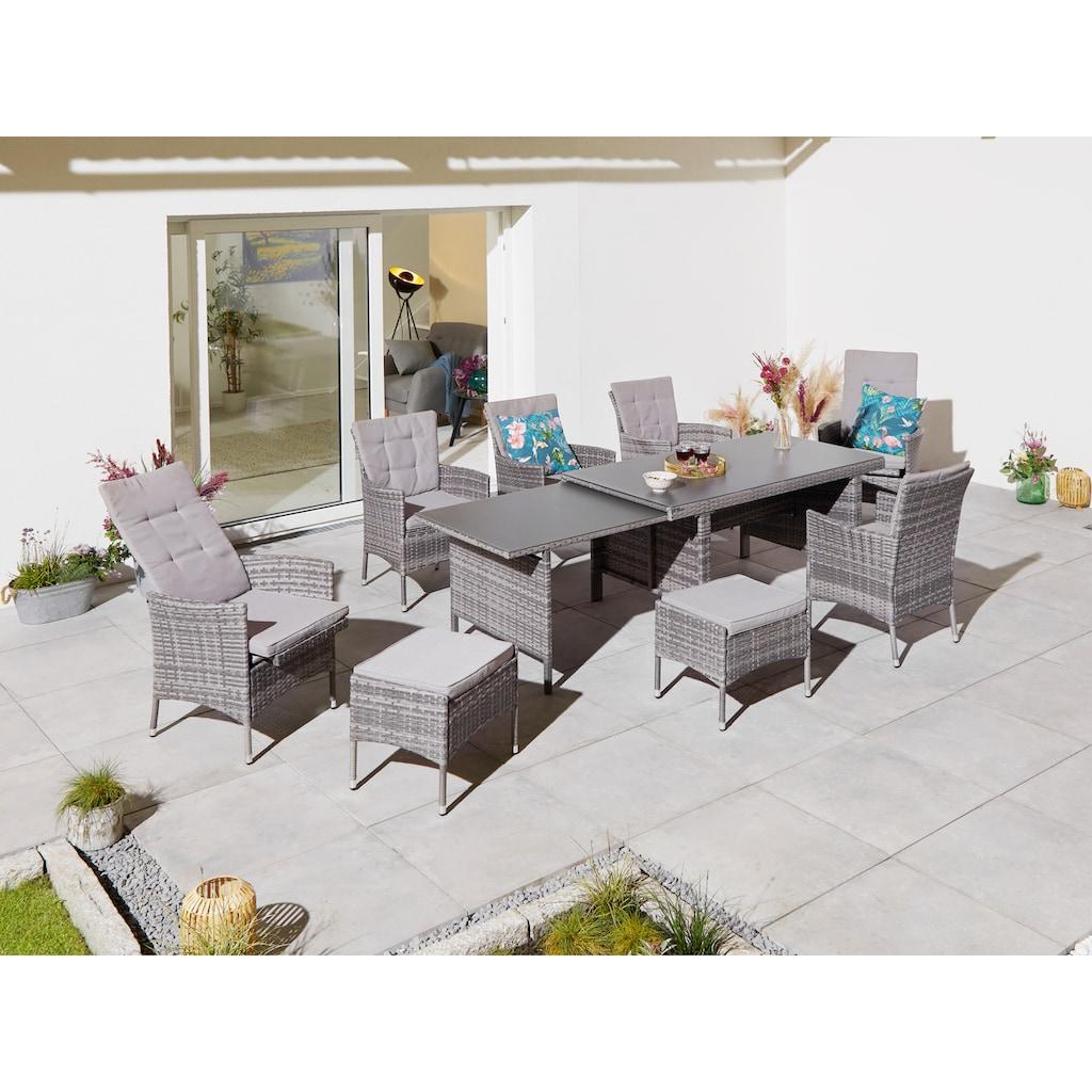 KONIFERA Gartenmöbelset »Parla«, (21 tlg.)