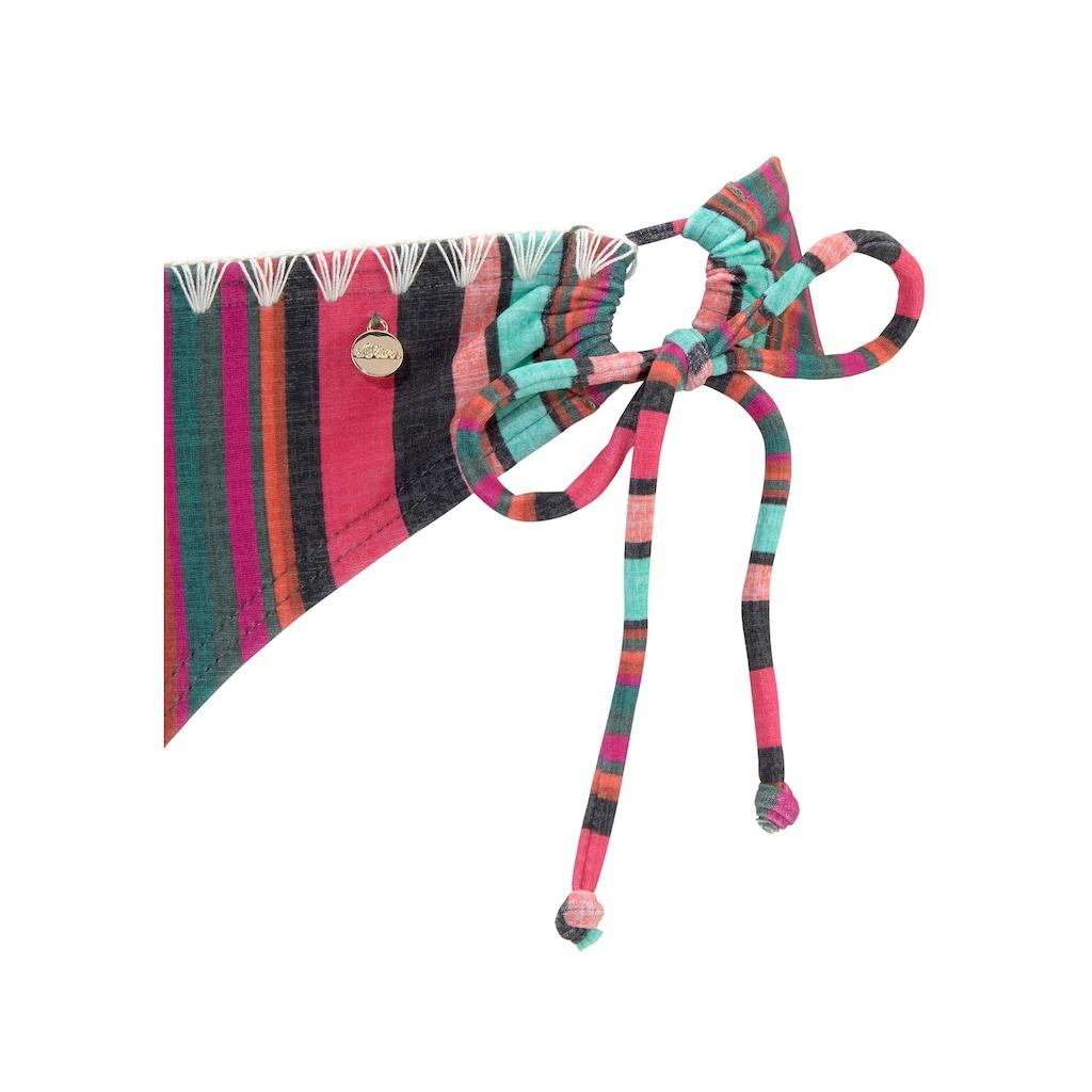 s.Oliver Triangel-Bikini, mit sommerlichem Streifendesign