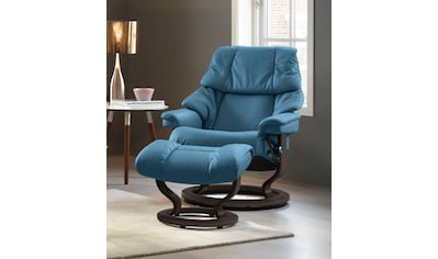 Stressless® Relaxsessel »Reno«, mit Hocker, mit Classic Base, Größe S, M & L, Gestell Wenge kaufen