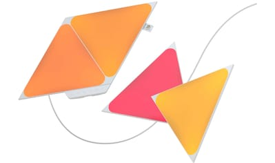 nanoleaf LED Panel »Nanoleaf Shapes Triangles Starter Kit - 4PK«, LED-Board, Farbwechsler kaufen