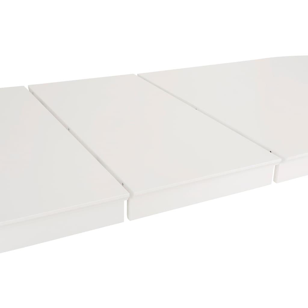 Home affaire Esstisch »Piano«, Breite 165 cm, ausziehbar auf 265 cm