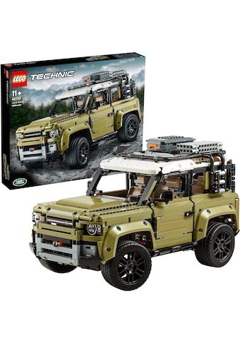 """LEGO® Konstruktionsspielsteine """"Land Rover Defender (42110), LEGO® Technic"""", (2573 - tlg.) kaufen"""