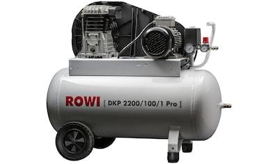 ROWI Kompressor »DKP 2200/100/1 Pro« kaufen