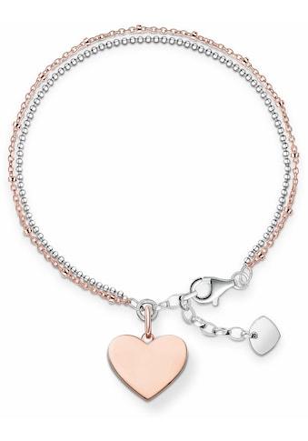 THOMAS SABO Armband »Herz, LBA0102 - 415 - 12 - L19,5v« kaufen
