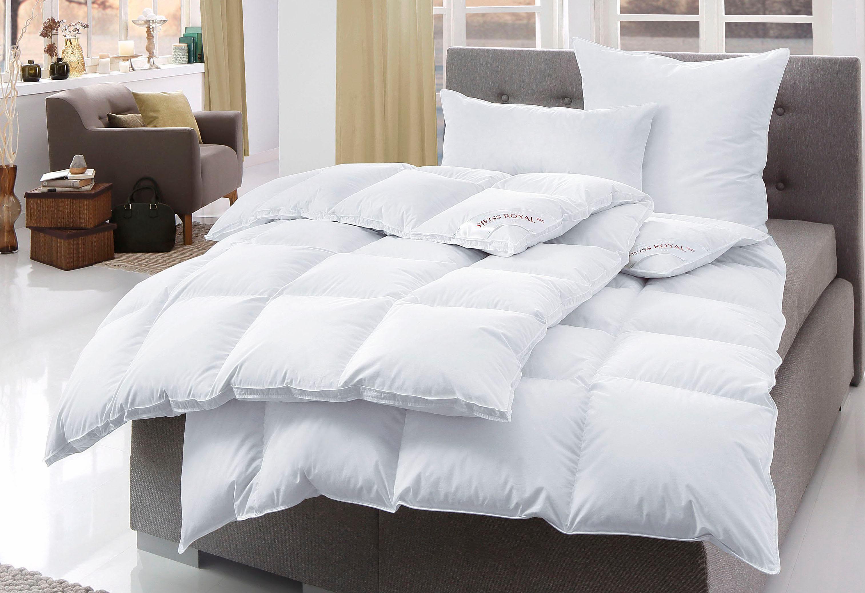 Bettdeckenset Häussling Swiss Royal, Extrawarm, 90% Daunen, 10% Federn