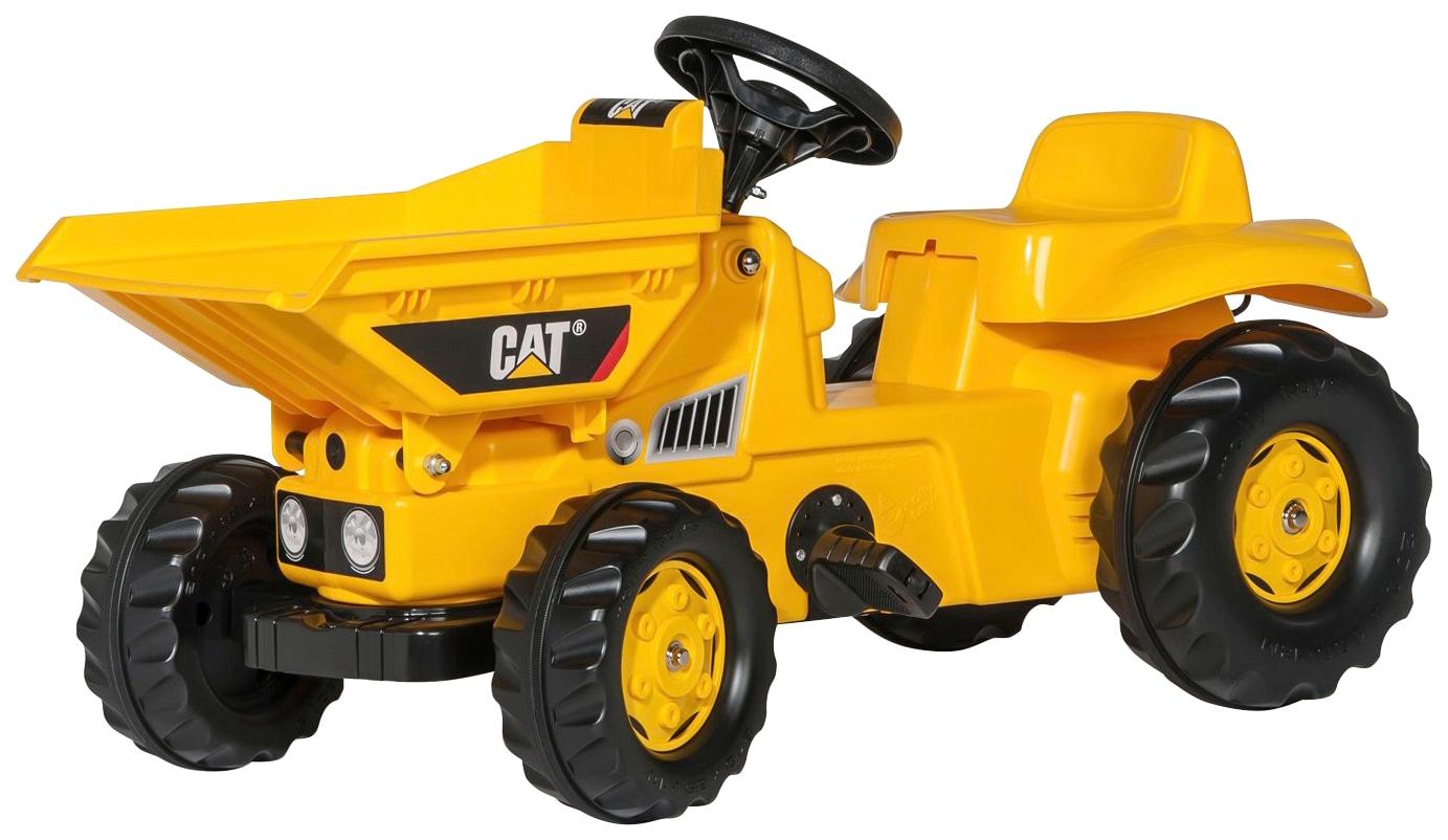 Rolly Toys Tretfahrzeug CAT, Dumper gelb Kinder Kettcar Kinderfahrzeuge