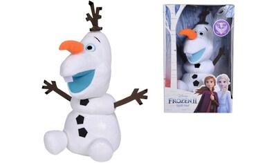 SIMBA Plüschfigur »Disney Frozen 2, Activity Olaf, 30 cm« kaufen