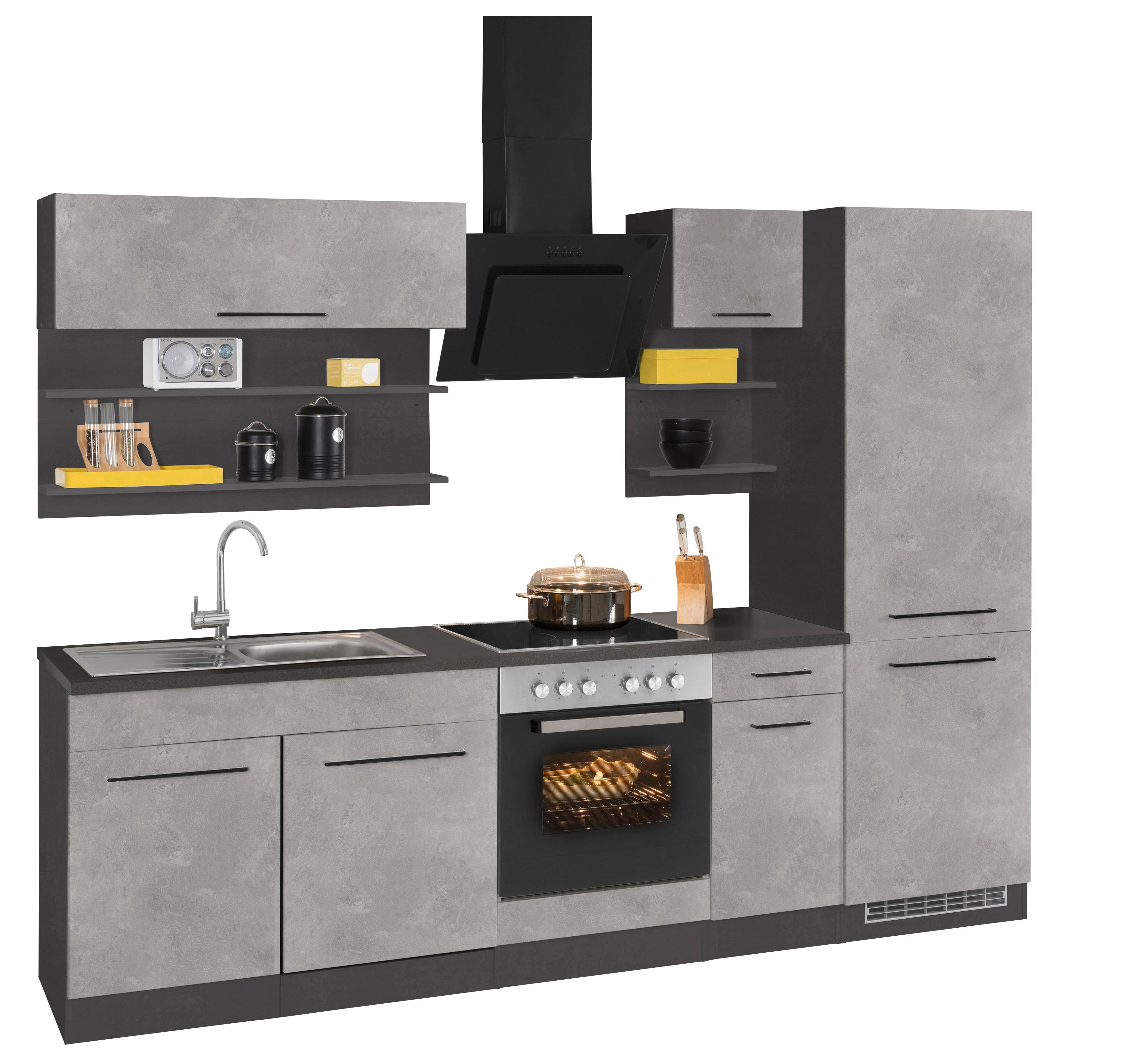 grau-edelstahl Küchenzeilen online kaufen | Möbel-Suchmaschine ...