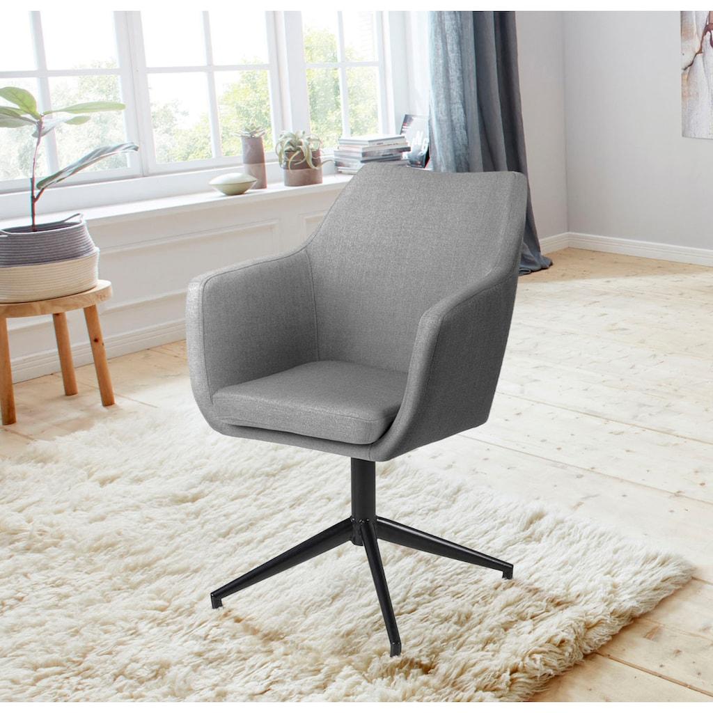 andas Armlehnstuhl »Nina«, in zwei verschiedenen Bezugsqualitäten, Sitzhöhe 49 cm