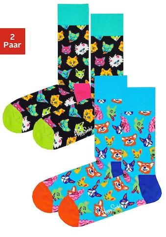 Happy Socks Socken Dogs & Cats (2 Paar) kaufen