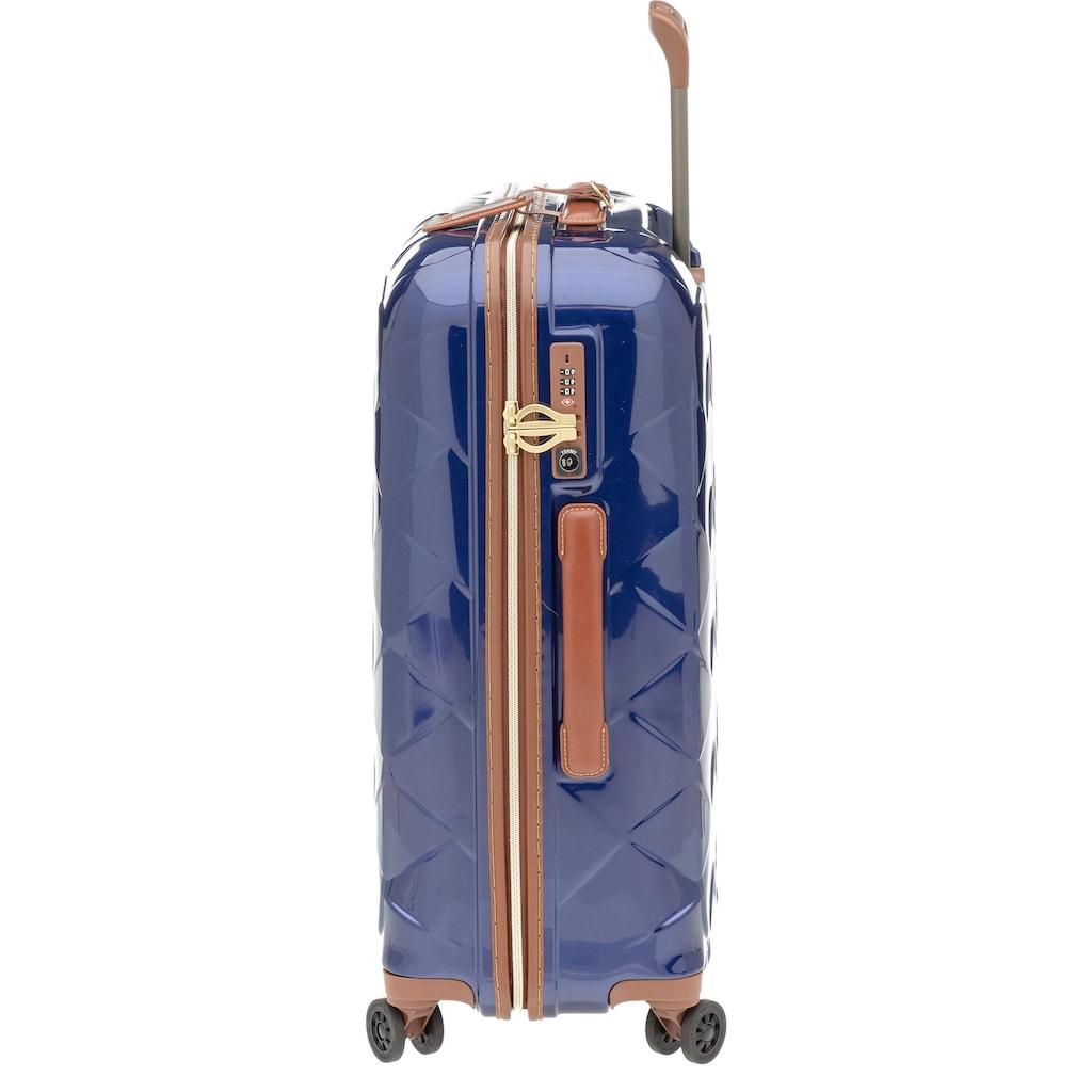Stratic Hartschalen-Trolley »Leather & More, 55 cm«, 4 Rollen, mit 4 Rollen