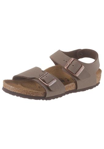 Birkenstock Sandale »New York«, in schmaler Schuhweite kaufen