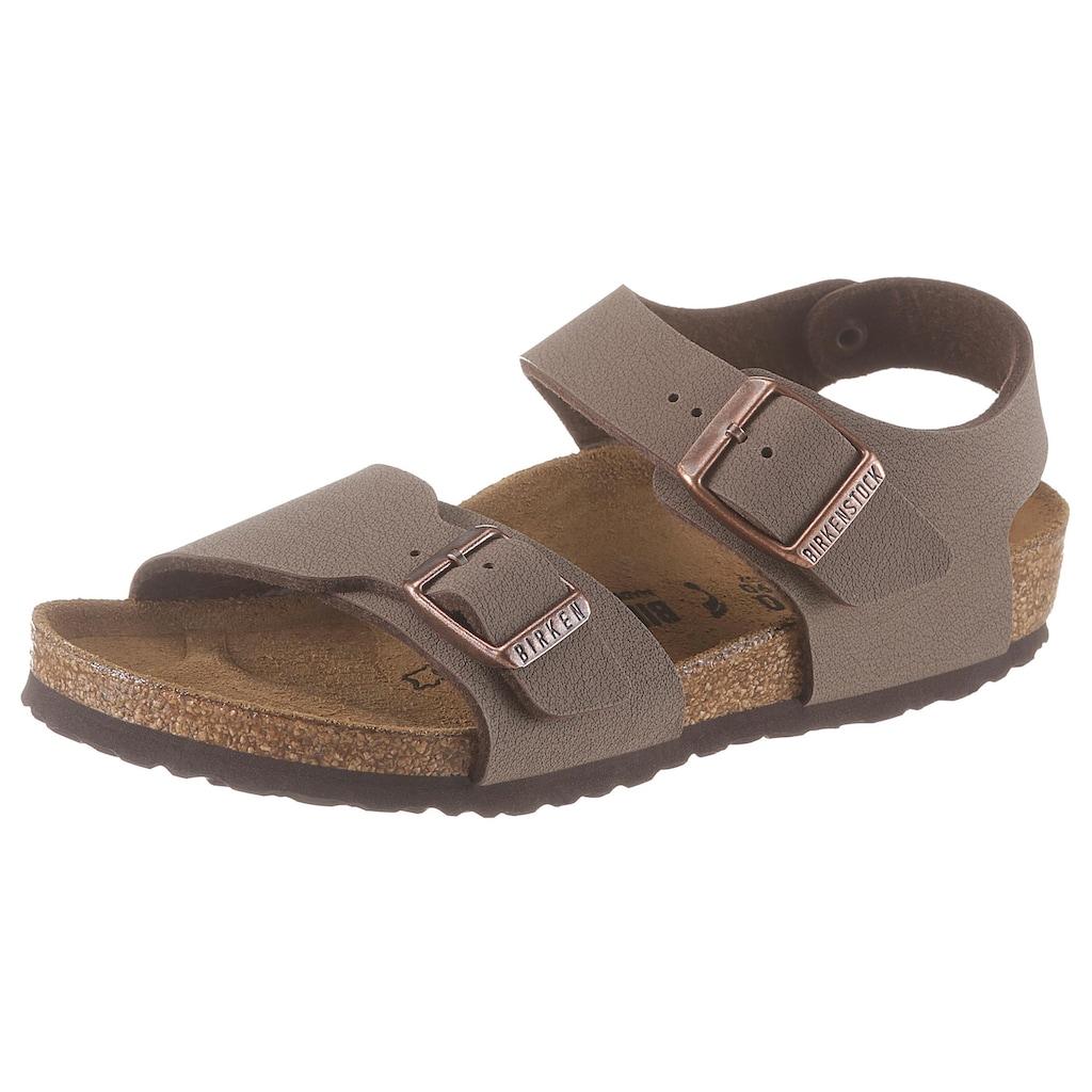 Birkenstock Sandale »New York«, in schmaler Schuhweite