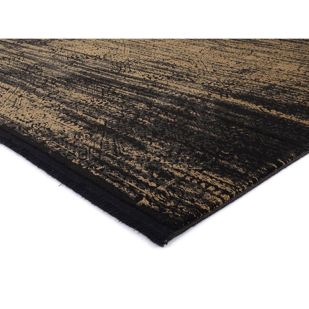 OCI DIE TEPPICHMARKE Teppich »BRILLIANT Art Deco«, rechteckig, 50 mm Höhe, Wohnzimmer, 3D Hochtief-Optik