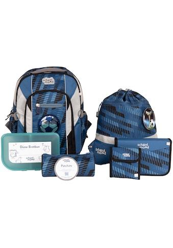 SCHOOL-MOOD® Schulrucksack »Loop Air+, Mats«, retroreflektierende Flächen, aus... kaufen
