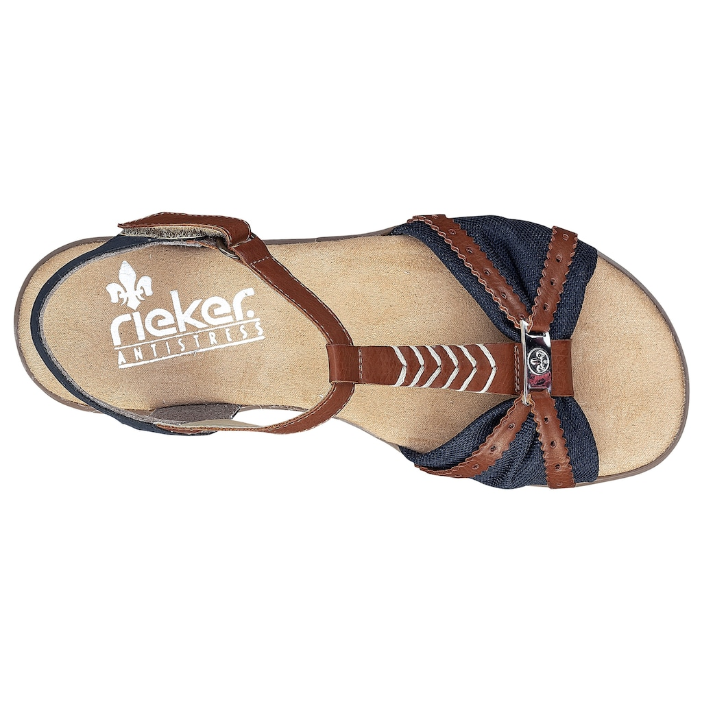 Rieker Sandalette, in zweifarbiger Optik
