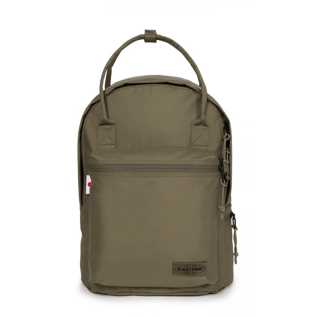 Eastpak Laptoprucksack »SHOP'R, Streamed Streamed Khaki«, enthält recyceltes Material (Global Recycled Standard)