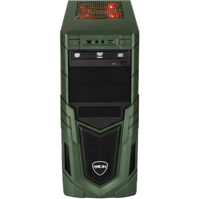 Hyrican »Military Gaming 6478« Gaming-PC (AMD, Ryzen 5, GTX 1660 SUPER, Luftkühlung)