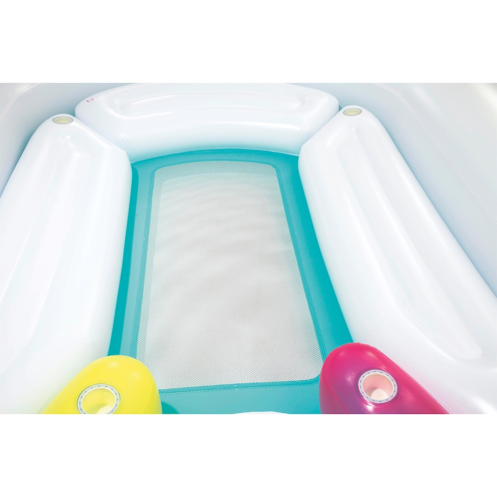 Bestway Badeinsel »Float'N Fashion™ Riesen Einhorn«, BxLxH: 419x603x277 cm