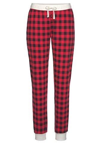 LASCANA Pyjamahose, im Karomuster kaufen