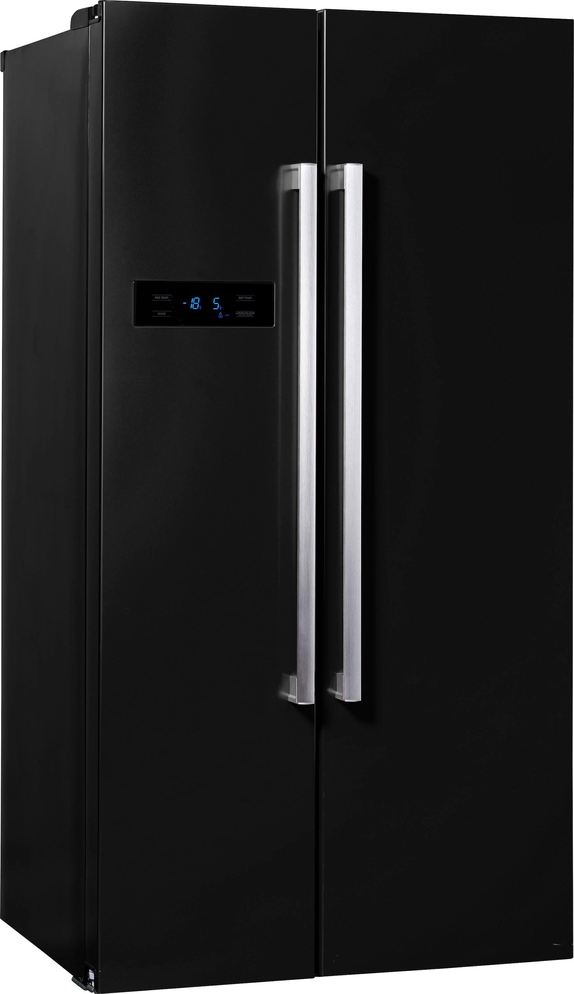 Amerikanischer Kühlschrank Edelstahl : Side by side kühlschrank auf rechnung raten kaufen