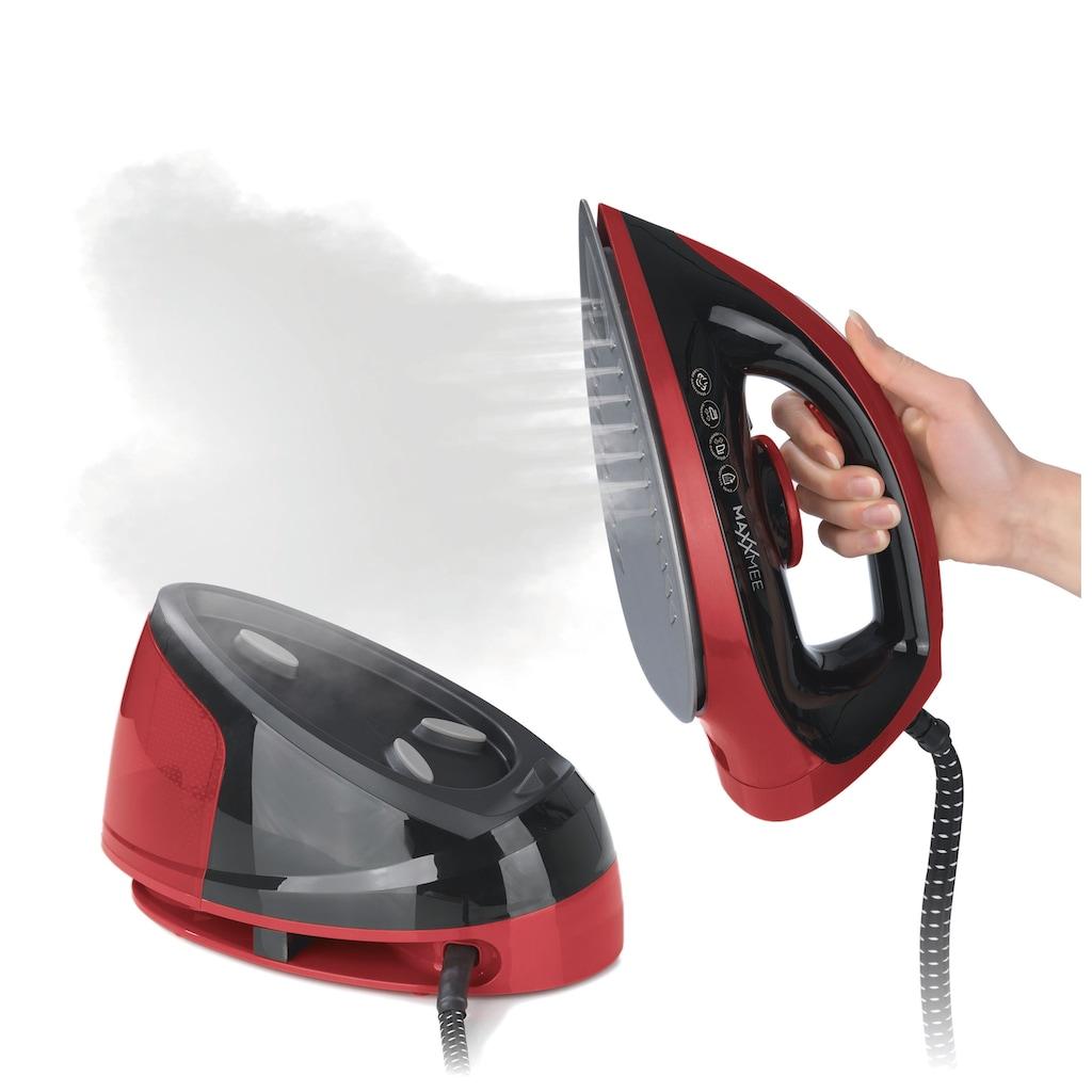 MAXXMEE Dampfbügelstation »2400W rot/schwarz«