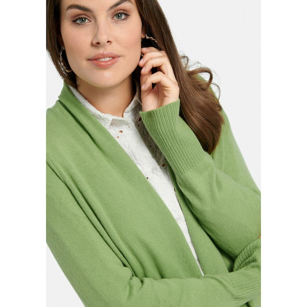 Emilia Lay Longstrickjacke »aus 100% Premium-Kaschmir«
