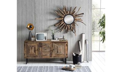 SIT Sideboard »Parquett«, aus recyceltem Teakholz, Breite 150 cm kaufen