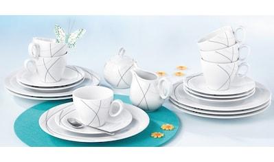 """Seltmann Weiden Kaffeeservice """"Trio Highline"""" (20 - tlg.), Porzellan kaufen"""